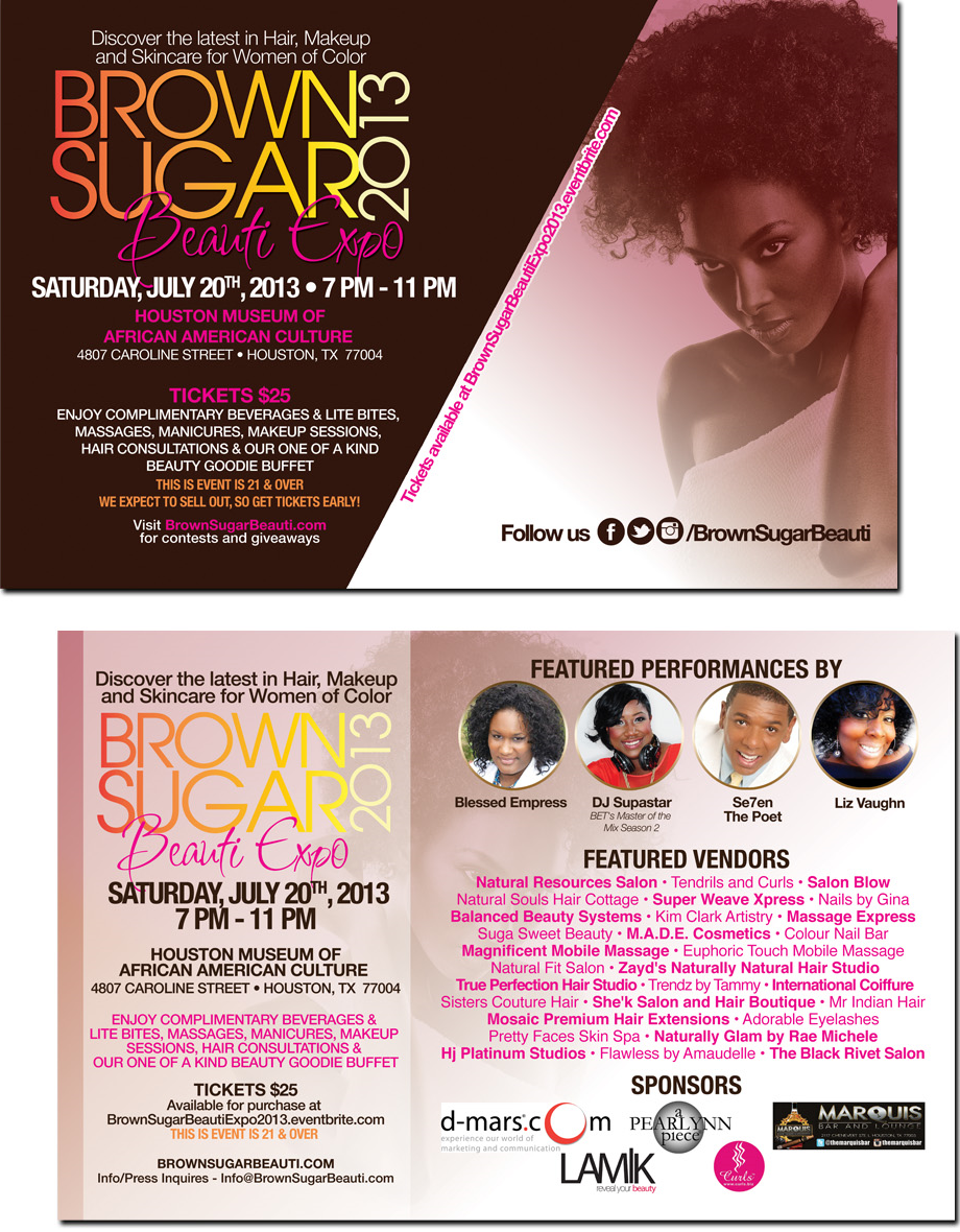 Brown Sugar Beauti Expo 2013 FlyerA