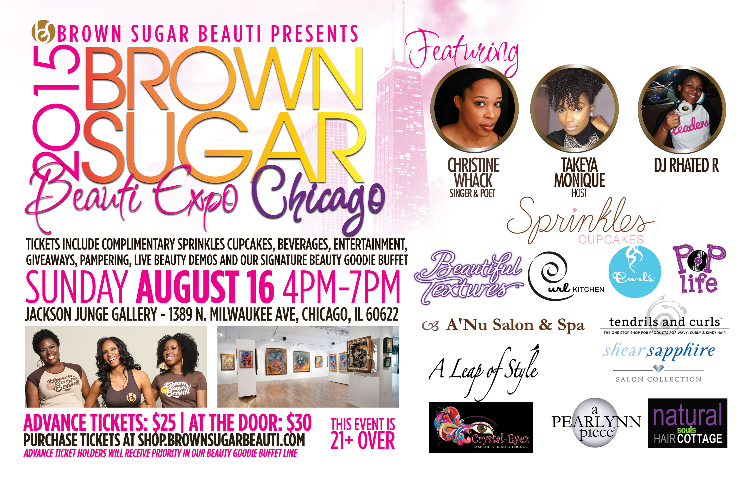 2015 BROWN SUGAR BEAUTI EXPO FLYER